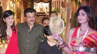 Karva Chauth 2017- Anil Kapoor Throws A Karva Chauth Party At Her Residence