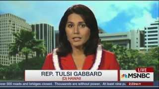 U.S. Congresswoman Tulsi Gabbard: Russia is bombing al-Qaeda terrorists. Why is this a bad thing?