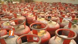 LPG Rates Hiked |  90 Rs Per Subsidised Cylinder And148.50 Rs Per Non Subsidy Cylinder | iNews