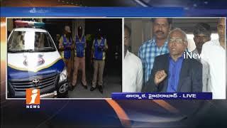 Kancha Ilaiah Speaks To Media After Police Stops His Vijayawada Tour   iNews