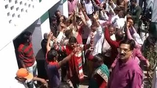 Celebrations at Yogi Adityanath's village in Uttarakhand