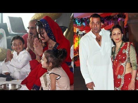 Manyata Dutt Arranges Mata Ki Chowki Without Sanjay Dutt