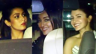 Noor Movie Screening | Full Video | Sonakshi Sinha, Anushka Sharma, Mira Rajput