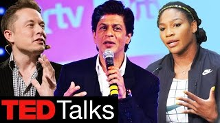Shahrukh Khan Joins Elon Musk, Serena Williams At Ted Talk 2017