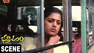 Srihari Gets Fight on Goons || Bhadrachalam Movie Scenes