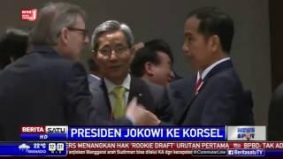Kunker ke Korsel, Jokowi Cerita Blusukan di Depan GW Bush
