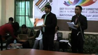 National Voters' Day 2015, Lunglei, Mizoram