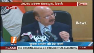 Election Commission Of India Announces President Election On July 17th | iNews