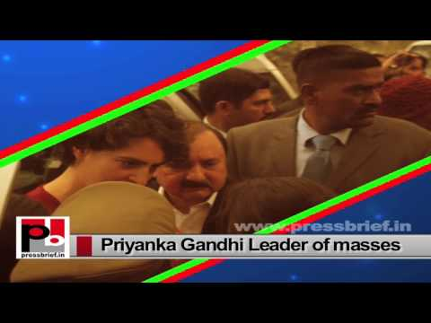 Priyanka Gandhi Vadra-charismatic and energetic leader like former Prime Minister Indira Gandhi