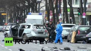 Germany: Forensic experts launch investigation at scene of Berlin car bomb blast