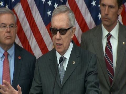 Reid to GOP- First Fund Homeland Security News Video