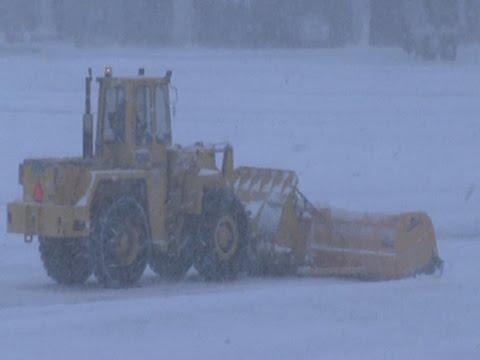 Snow Causes Travel Mess at Boston Logan Airport News Video