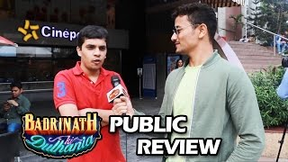 Badrinath Ki Dulhania - BEST Public Review - Women Empowerment Movie