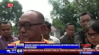 Undang Jokowi Hadiri Munaslub Golkar, Ical Datangi Istana