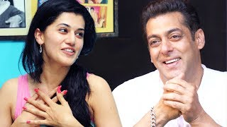 Taapsee Pannu To Work With Salman Khan In Next Film?
