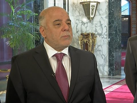 Iraq's Al-Abadi- 'We Need Aid to Fight IS Group' News Video