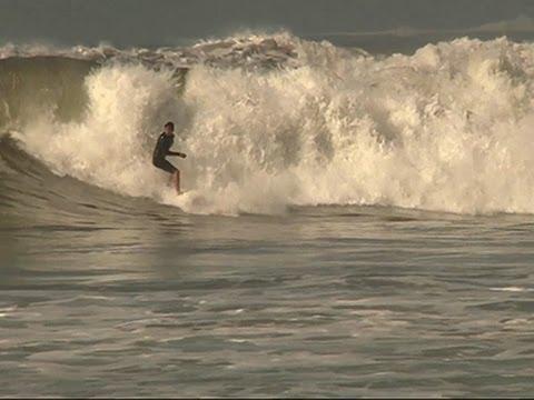 Big Waves, Minor Flooding From Hurricane News Video