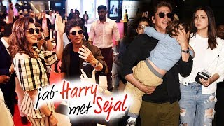 Jab Harry Met Sejal Craze In Dubai, Shahrukh Returns With AbRam And Anushka From Dubai