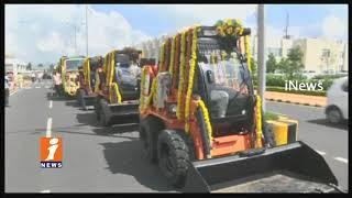 AP CM Chandrababu Naidu Launches Swachh Andhra Mission In Velagapudi | Amaravati | iNews