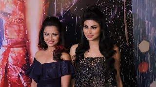 Naagin Actresses Mouni Roy And Adaa Khan At Half Girlfriend SUCCESS Party