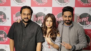 Ayushmann And Bhumi Pednekar Promotes KANHA Song At Fever 104 FM | Shubh Mangal Savdhan