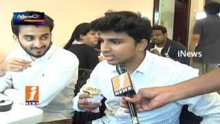 Hyderabad City Youths Interest On Arabian Food Shawarma In Restaurants| Metro Colours | iNews