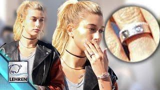 Justin & Hailey ENGAGED??? | Hailey Baldwin Flaunts Ring