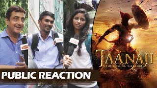 Ajay Devgn's TAANAJI First Look - PUBLIC REACTION - Ajay Devgn KILLS With His Eyes