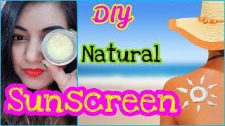 DIY Natural Sunscreen (Winter) for Dry & Oily Skin - Affordable 100% Effective | JSuper Kaur