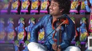 Abhijith P S Nair Live Carnatic Violin performance 'East meets West'