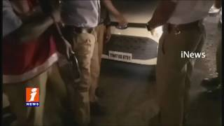 Drunken Youth Hits Traffic Constable at Kukatpally | Hyderabad | iNews