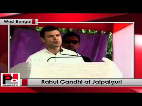Rahul Gandhi addresses Congress rally in Jalpaiguri at West Bengal; seeks people's support