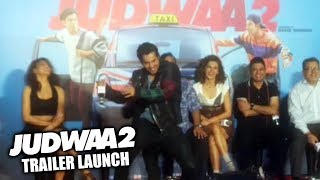 Varun Dhawan FUNNY DANCE At Judwaa 2 Trailer Launch