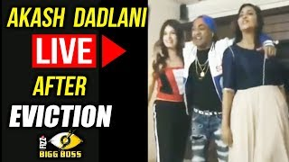 LIVE VIDEO - Akash Dadlani PARTIES With Arshi Khan And Bandgi After Eviction | Bigg Boss 11