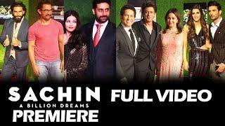 Sachin A Billion Dreams GRAND PREMIERE - Sachin, Shahrukh, Aamir, Ranveer, Aishwarya, Kriti, Sushant