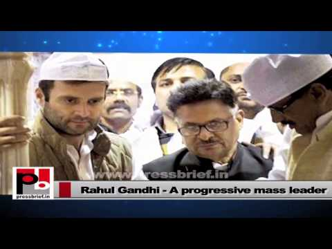 Rahul Gandhi- A leader who always stands with the people