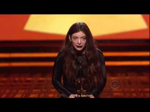 Grammy Awards 2014 Full Show - Teen Hottie Lorde Gets a Grammy @ Grammy Awards 2014