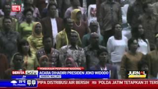 Jokowi Membuka Pesparawi Nasional di Ambon
