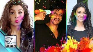 Bollywood Wishes HAPPY HOLI 2016 | Shah Rukh Khan | Alia Bhatt