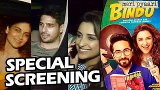 Meri Pyaari Bindu Special Screening | Kangana, Parineeti, Sidharth Malhotra