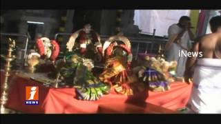 Gayatri Devi Dasara Utsav Celebrations in Tadipatri | Anantapur | iNews