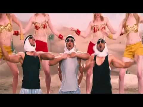 Double Dhamaal - Al Habibi, Swimming In Oil Scene - Bollywood Movie Comedy Scene