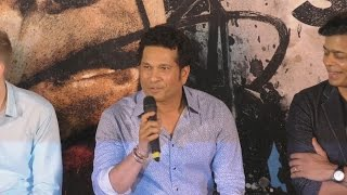 Sachin Tendulkar SPEAKING In Marathi At Sachin A Billion Dreams Trailer Launch