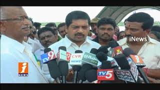 Minister Kollu Ravindra Distribution Subsidy Tractors To Farmers In Narsapur | West Godavari | iNews