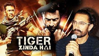 Salman's Tiger Zinda Hai Has Wolverine CONNECTION,  Aamir Khan Reaction On Tiger Zinda Hai