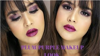PLUM/PURPLE WINTER MAKEUP TUTORIAL