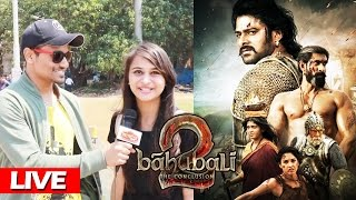 Baahubali 2- The Conclusion - Trailer Reaction - Prabhas, Rana Daggubati, SS Rajamouli