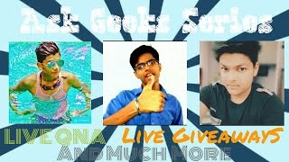 #askgeeks8 Live QnA With ask geeks team!!