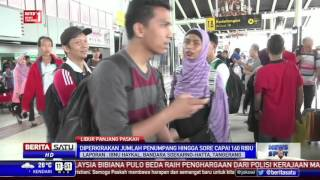 Suasana Arus Balik di Bandara Soekarno-Hatta