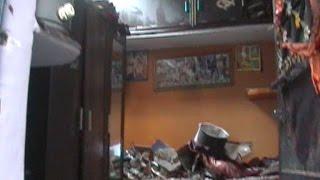 दिल्ली - घर में सिलेंडर ब्लास्ट, कई मकानों की छत उड़ी